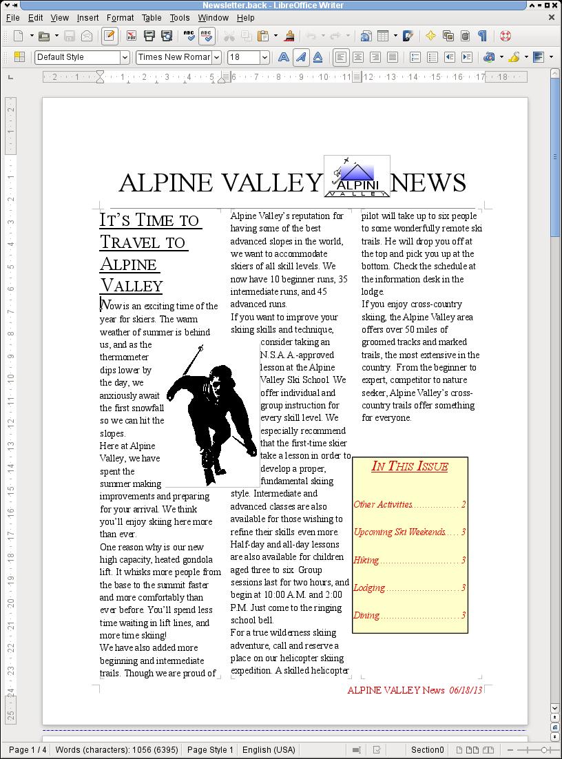 Newsletter MacWrite Pro 1.5
